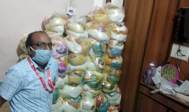 Riyaz Hashmi lost his job before the pandemic, yet managed to provide food for 10,000 people