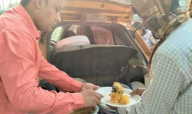 Food for thought: Why Zeeshan Majeed spends his weekends feeding hungry people