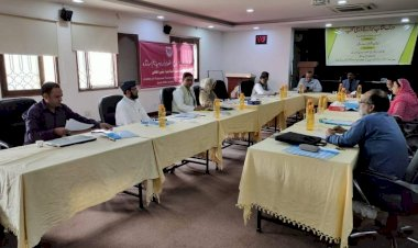Jamia workshop guides experts on preparation of Urdu Text Book for elementary level