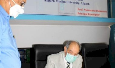 AMU vice chancellor volunteers for Covaxin trial, wins praise