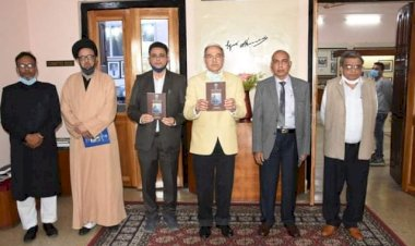 AMU releases book on Sir Syed