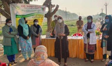 AMU Women's Club Organises Covid-19 awareness programme