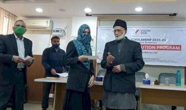 Human Welfare Foundation distributed UG-PG scholarship to 500 students.