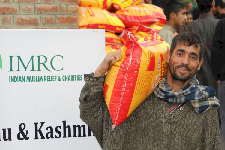 IMRC marks stellar achievements while helping needy in 2020