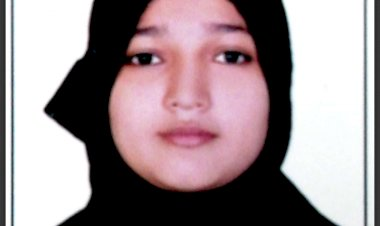 Studying and struggling, Zarin Begum tops CA exam