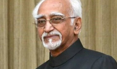 Concerted efforts to regard Muslim as 'others' says Hamid Ansari