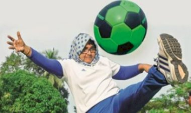 Fouzia, the pioneer of women's football in north Kerala passed away