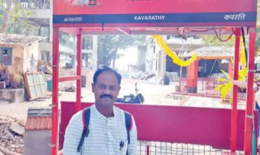 Congested Kavaratti Muslim neighbourhood and its Shiva temple; the viral Facebook post of govt official