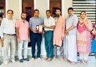 Captain at 24, CIGI felicitates Dr Adhil Hameed Chettiyam