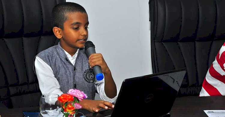 Took to coding at 8, teaches coding at 12